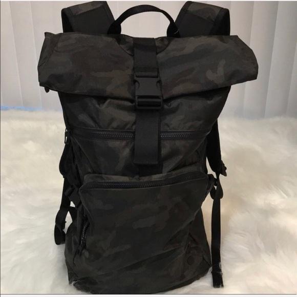 20c078aeea lululemon athletica Bags   Lululemon Not Lost Backpack Nwt ...